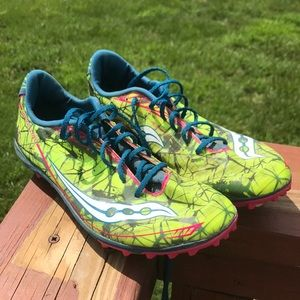 Saucony Shay Cross Country XC spikes